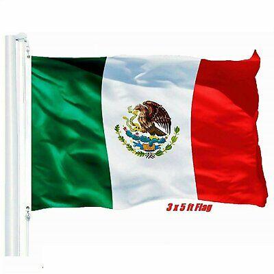 New 3×5 Polyester MEXICO FLAG Outdoor Body Mexican Flag Bandera De Mexico Décor