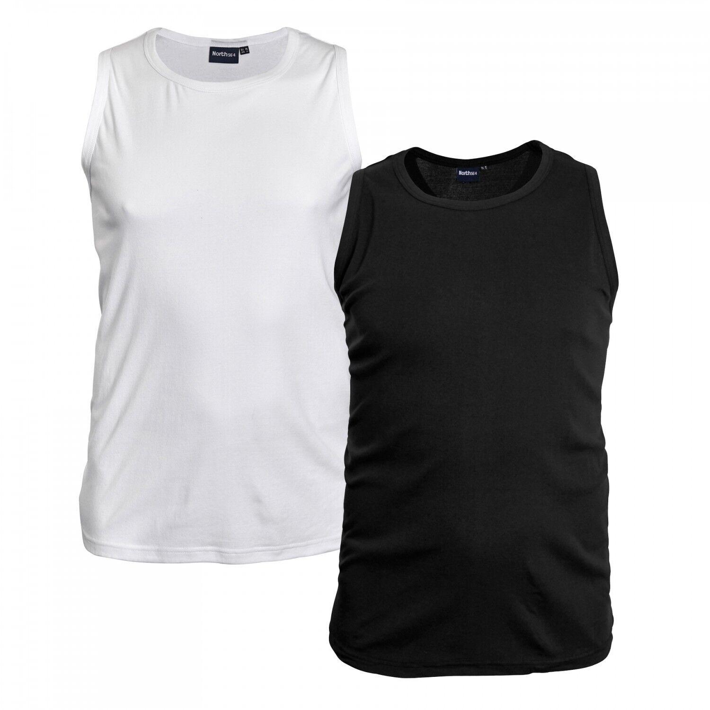 Ärmelloses Unterhemd für Herren von North 56°4 in Übergröße bis 8XL