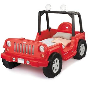 Kids Jeep Wrangler Bed
