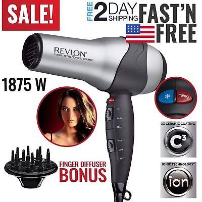 Hair Dryer Blow Dryer Women Revlon Professional Blower Beauty Best Travel