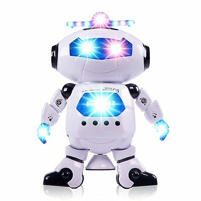 Boys Toys Electronic Walking Dancing Robot Toy - Best Gift for Kids 3 years old