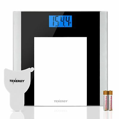 Tenergy Body Weight Scale 400 Pounds Digital Bathroom Scale Body Measuring Tape