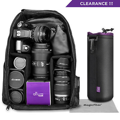 Camera Backpack Bag Case for Nikon D7200 D7100 D7000 D5200 D5100 D3300 D3200
