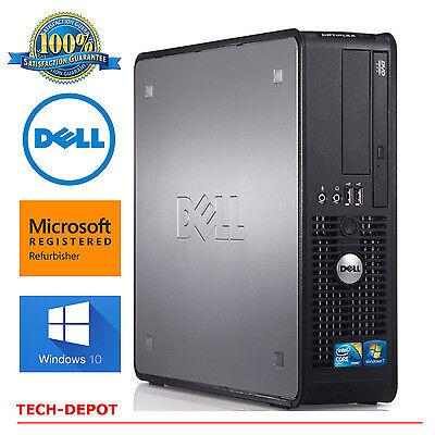 Dell Desktop Computer Pc Core 2 Duo 3 0Ghz 4Gb Ram Up To 1Tb Dvdrw Windows 10