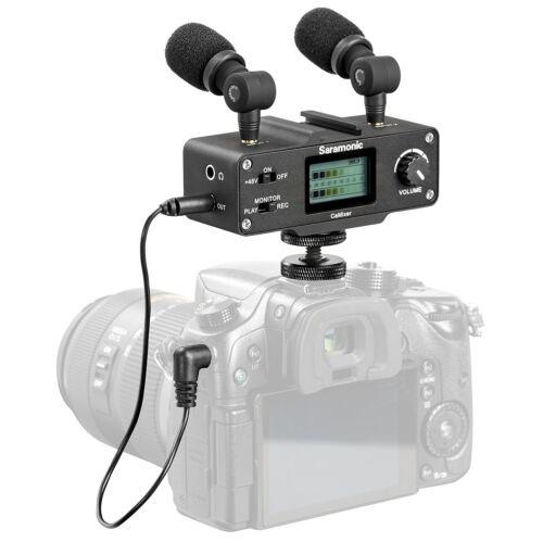 Saramonic CaMixer Dual Stereo Microphone / Mixer for Canon E