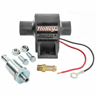Holley 12-426 Mighty Mite Electric Fuel Pump 25GPH 1.5-4 Psi All Fuel E85 Diesel