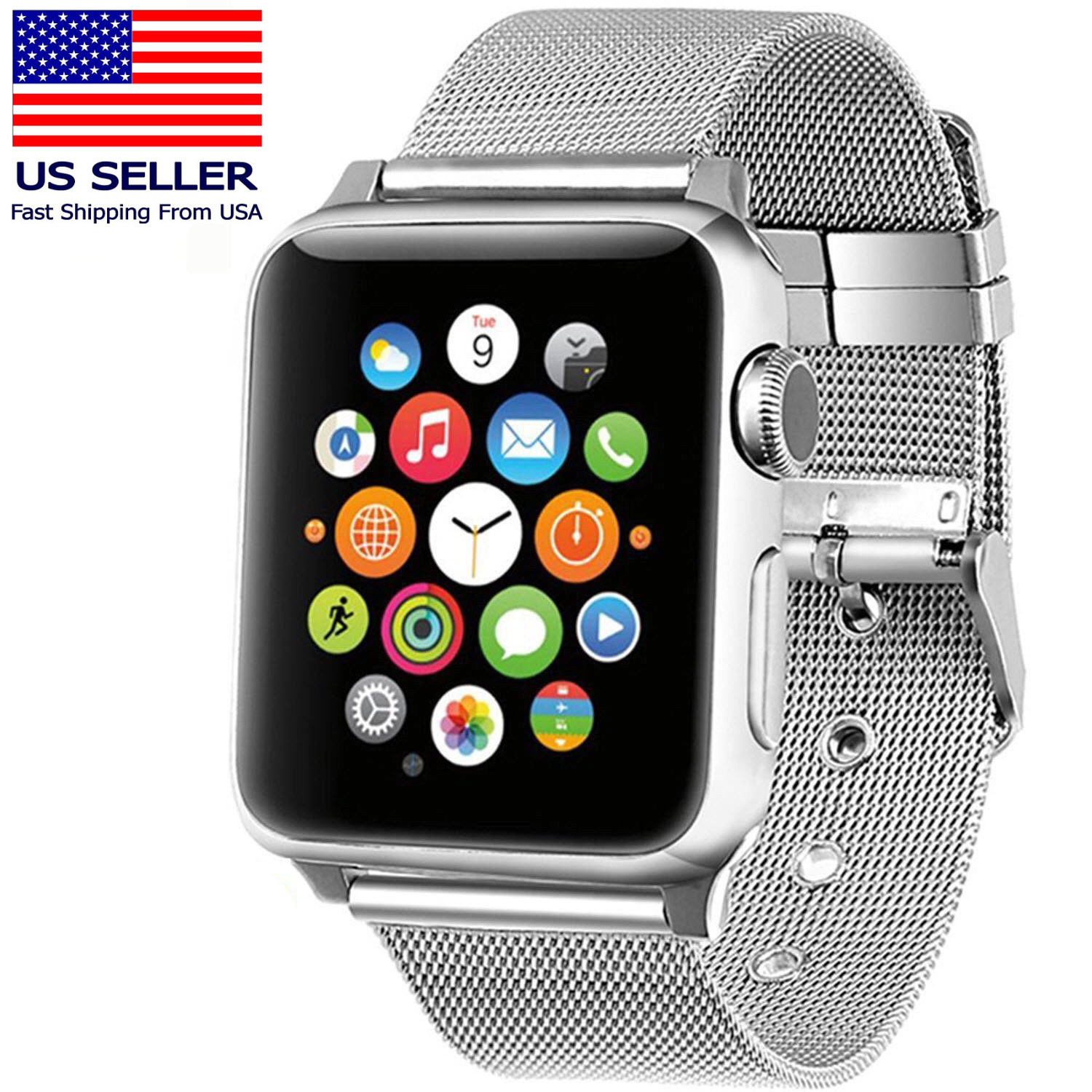 Stainless Steel iWatch Replacement Band 42mm Apple Watch Ser