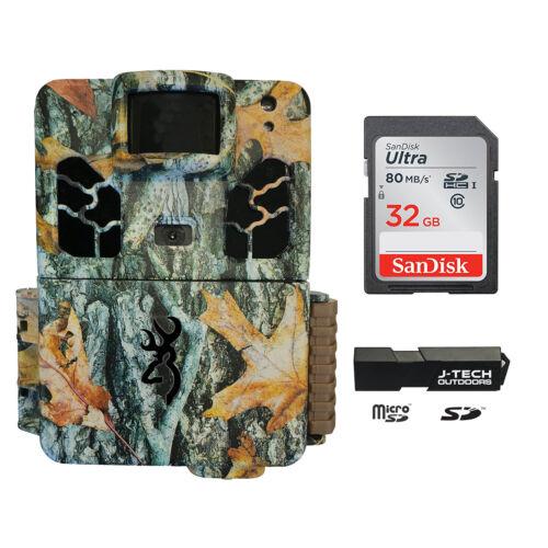 Browning DARK OPS HD APEX 2019 Trail Cam Kit + 32GB Card + C