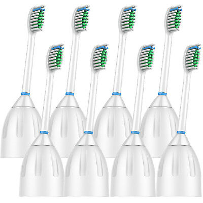 8-Pack Philips Sonicare E-Series Generic Replacement Toothbr