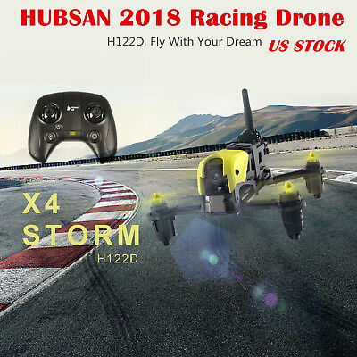 Hubsan H122D PRO X4 FPV STORM Micro Racing Drone 720P Camera+ Transmitter US