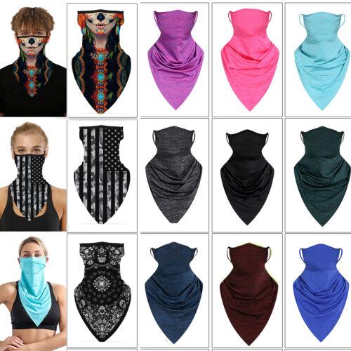 face scarf bandana half mouth cover balaclava