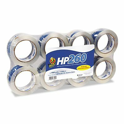 1-eight Pack Duck Brand Hp-260 1 88 Hp Packingcarton Tape 60 Yards Per Roll