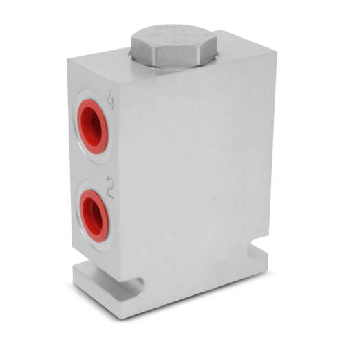 Hydraulic Pump Flow Divider / Combiner, 50:50, 2.5-10 GPM