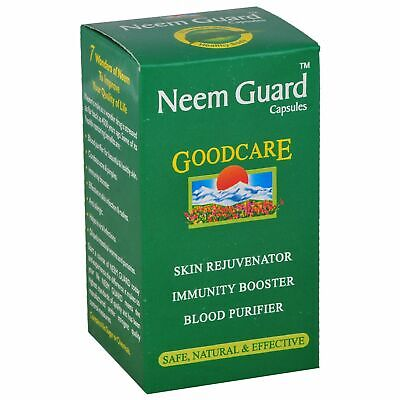 2x Goodcare Neem Guard (60 Capsules) natural care