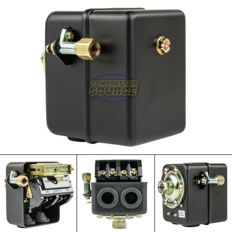 22 Amp 145-175 PSI Air Compressor Pressure Switch Control w/ All Metal Housing