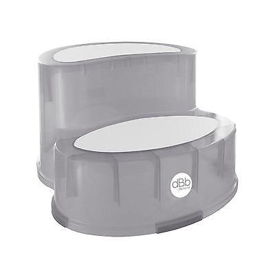Tritthocker mit Antirutschboden Grey Dbb remond grau