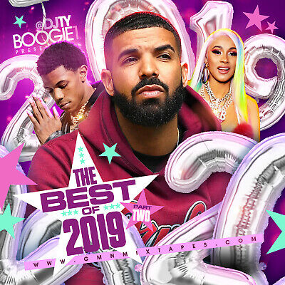 DJ TY BOOGIE - BEST OF 2019 PT. 2 (MIX CD) HIP-HOP, R&B AND BLENDS (Best Hip Hop Music 2019)