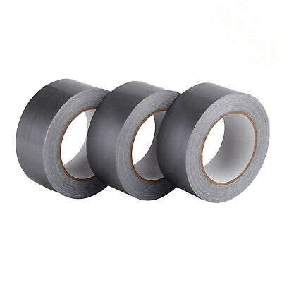 3 Pack Duct Tapegreytear By Hand 50mm X 30 Yds Root Tapes For Domestic Ind.