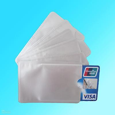 RFID Blocking Contactless Debit Credit Card Protector Sleeve Wallets Sleeves