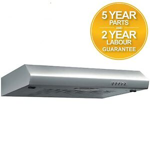 SIA VI61SS 60cm Visor Cooker Hood Kitchen Extractor Fan in Stainless Steel