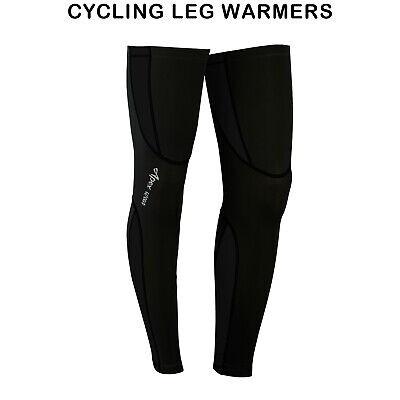 Mens Cycling Leg Warmers Winter Running Thermal Roubix Cycle (Cycling Warmers)