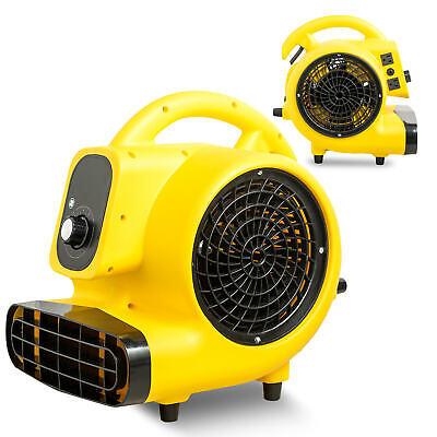 Portable Air Mover Blower Carpet Dryer Floor Fan Utility Blower Fan 14 Hp