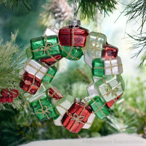 Present Wreath Christmas Ornament Tree Decoration