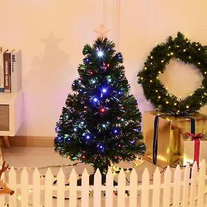 Arbre de Noël 3' Avec Lumières LED Artificiel Vert