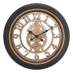 86611 Equity by La Crosse 20 Plastic Gears Analog Wall Clock
