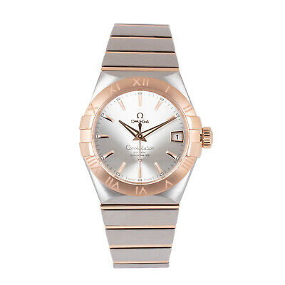 Omega Constellation 12320382102001 38mm Co-Axial Chronometer Red Gold Watch