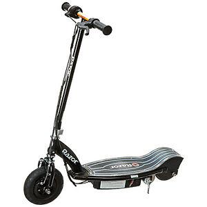 Razor E100 Glow Electric Scooter - Black