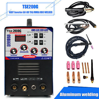 Tse200g Aluminum Welder Acdc Tigmma 3 In 1 Welding Machine 220v15