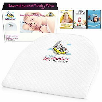 LilSlumber Baby Bassinet and Crib Reflux Wedge Pillow for sale  Shipping to South Africa