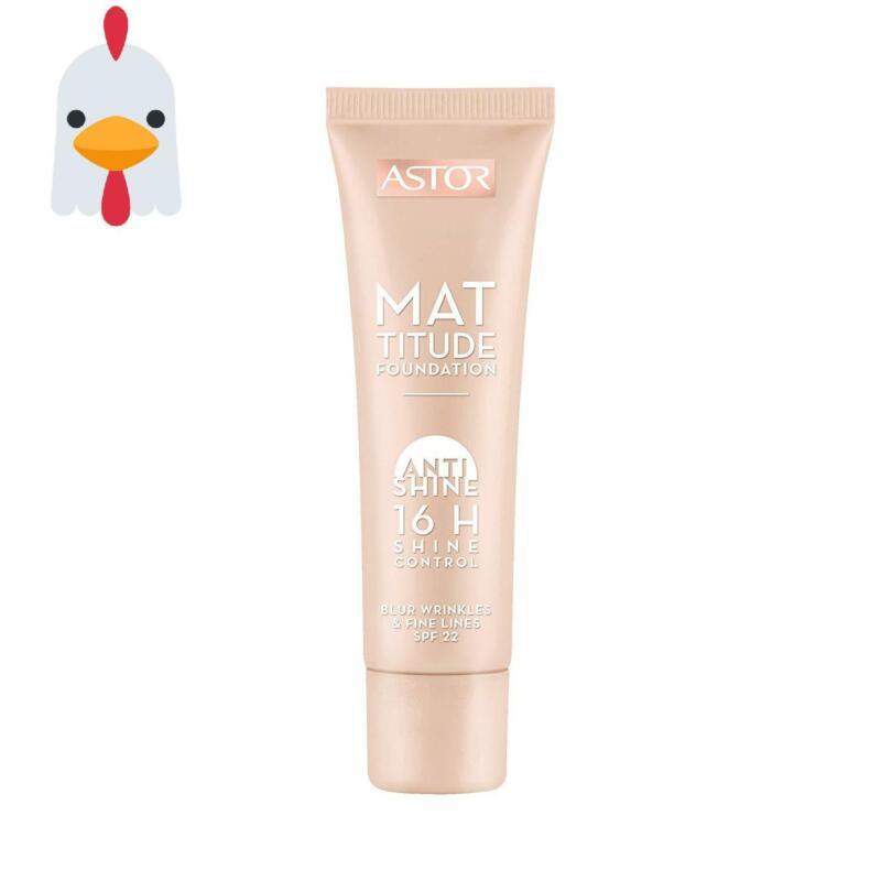 Astor Mattitude Anti Shine Foundation – Flüssig Make-Up Mit Anti Glanz Effekt