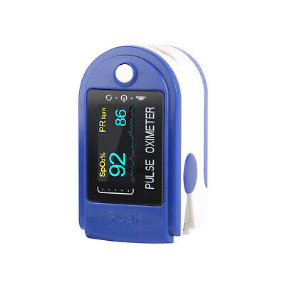 Finger Fingertip Pulse Oximeter Sp02 Blood Pulse Oxygen Monitor Cms50dl Us