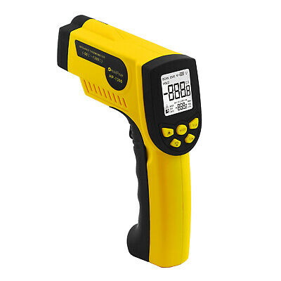 Non-contact Lcd Digital Infrared Ir Thermometer High Temperature Gun -501300