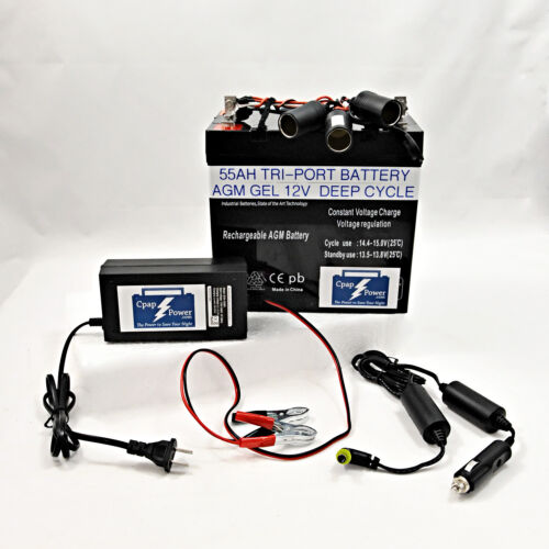 CAMPING Battery Kit Powers Philips DREAM STATION Up to 12 Nights 5 YR WARRANTY