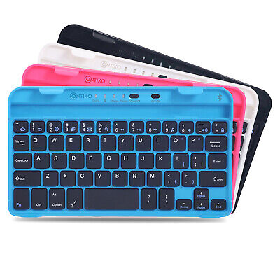 """Contixo Bluetooth Wireless Keyboard Smartphone Tablet 7"""" iPads Android Samsung"""