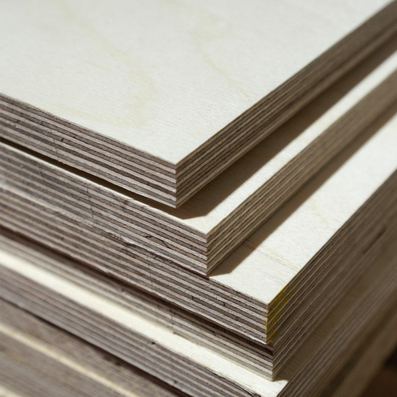 60x100 cm Siebdruckplatte 24mm Zuschnitt Multiplex Birke Holz Bodenplatte