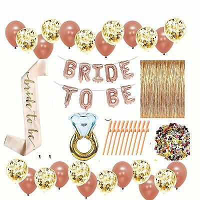 Bridal Shower Decorations and Games - Bachelorette Party Bride To Be Banner - Bride Decorations