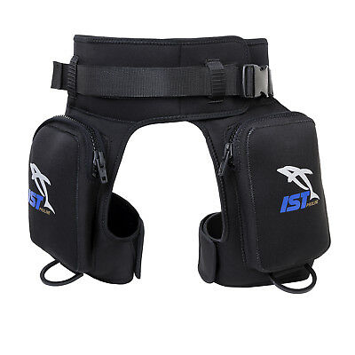 IST DH2 Diver Pocket Thigh Holster With Leg and Belt -
