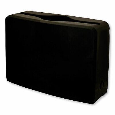 Gen Countertop Folded Towel Dispenser 10.63 X 7.28 X 4.53 Black 1607