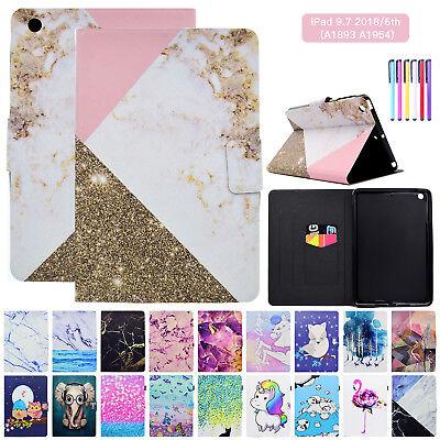 For iPad 9.7 2018 6th Generation Case Cover Auto Sleep/Wake