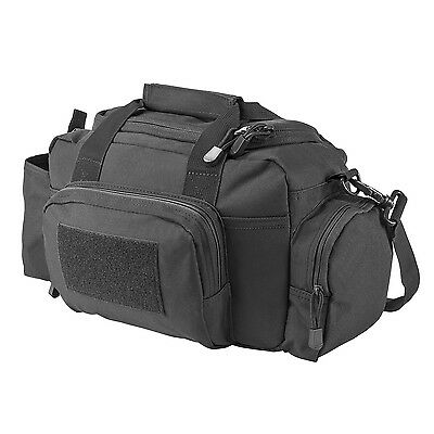 NcStar GRAY Small Range Deployment Bag MOLLE Modular Shoulder Carrying Pack