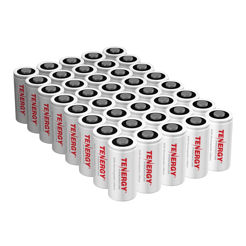 40 x premium 3v cr123 lithium batteries