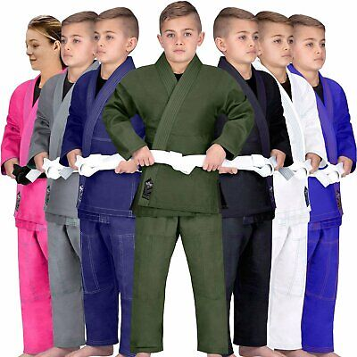 Elite Sports Kids BJJ GI, GIS for Youth Jiu Jitsu IBJJF Children's...