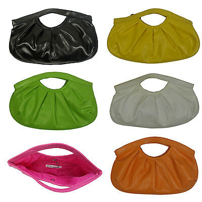 Synthetic Leather Girl Women Pouch Bag Handbag Soft Cute Purse Wallet Party (Party Leather)