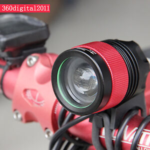 CREE-XM-L-XML-T6-LED-1800-Lm-Bicycle-bike-Head-Light-Headlamp-Rechargeable-Head