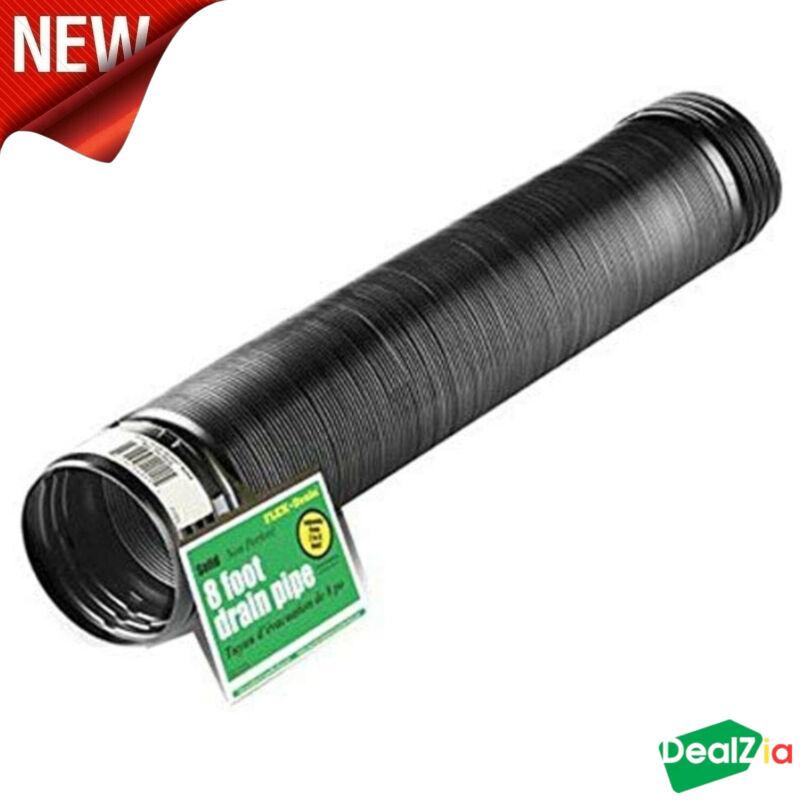 Expandable Flex Drain Downspout Extension Rain Pipe Spout Gutter Flexible 8 FT