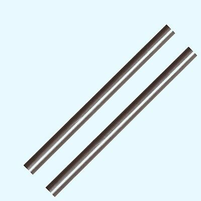 Stainless Steel Solid Round Stock 2 - 516 X 6 Ft Lengths 303 Unpolished Rod